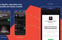 Spotify integra los podcast por suscripción a su plataforma