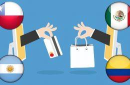 Argentina, Chile, Colombia y México lideran el panorama del eCommerce en América Latina