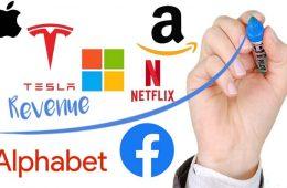 Descubre cuanto ganan por minuto las grandes empresas tecnologicas