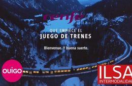 La competencia ferroviaria se ab re en España con un particular cruce de campañas