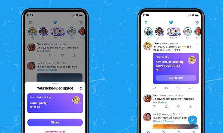 Twitter Spaces expande su alcance a los usuarios con 600 o más suscriptores
