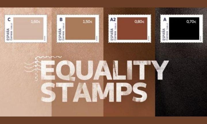 #EqualityStamps, la controvertida campaña antirracismo de Correos