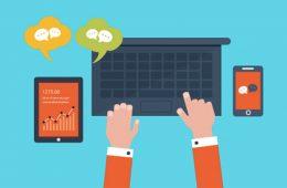 canales de comunicación online