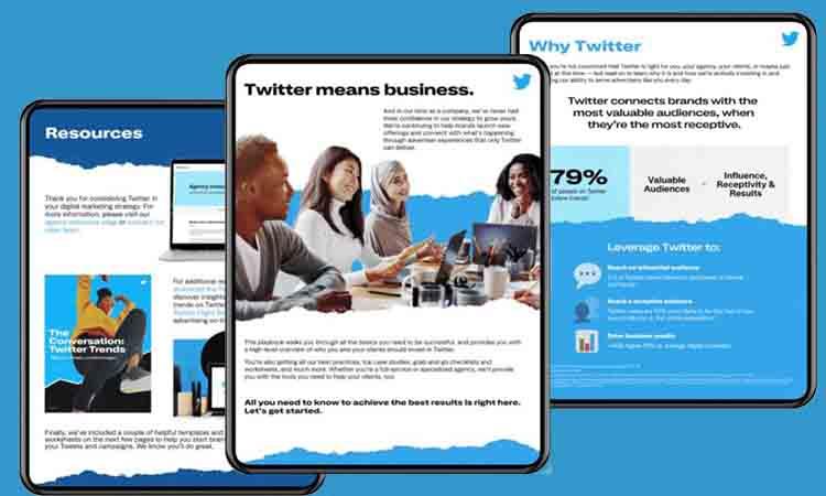 Twitter lanza su nuevo Agency Playbook