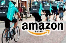 Amazon añade las entregas gratis de Deliveroo a su paquete Prime en Reino Unido e Irlanda
